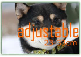 LUPINE 中型犬用アジャスタブルカラー23-33cm